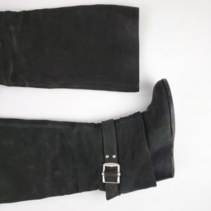Vince Camuto Shoes - Vince Camuto Alician Leather Riding Boots Black